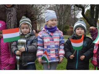 1848-49-es magyar Forradalom és Szabadságharc tiszteletére szervezett ünnepély